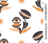 simple seamless pattern with... | Shutterstock .eps vector #1914803857