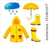 Umbrella  Raincoat  Rainboots...