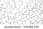 porcelain pieces | Shutterstock . vector #191481149