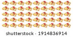pattern of typical spanish tapa ... | Shutterstock . vector #1914836914