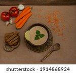 soup puree of lentils  potatoes ...