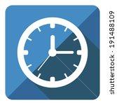 icon clock with shadow. vector...