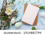 Easter Greeting Card Mockup....