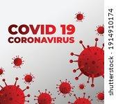 coronavirus disease 2019  covid ... | Shutterstock .eps vector #1914910174