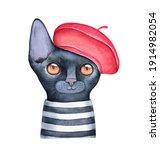 Watercolour Illustration Of...