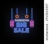 Ramadan Big Sale Neon Sign...