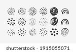 abstract graphic elements in... | Shutterstock .eps vector #1915055071