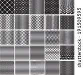 set metal grids.  | Shutterstock .eps vector #191509595