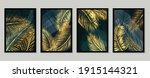 botanical wall art vector set.... | Shutterstock .eps vector #1915144321