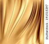 beautiful gold silk. drapery... | Shutterstock .eps vector #191515397