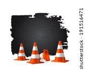 under construction concept... | Shutterstock .eps vector #191516471