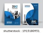 corporate book cover design... | Shutterstock .eps vector #1915180951
