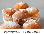 Close Up Of A Muffin On The...