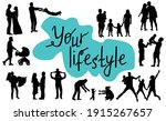 your lifestyle. concept of...   Shutterstock .eps vector #1915267657