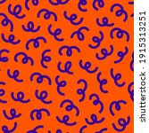 Squiggle Seamless Pattern....
