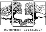 wall panel.  the vector drawing ... | Shutterstock .eps vector #1915318327