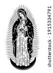 virgin of guadalupe. the virgin ...   Shutterstock .eps vector #1915334791