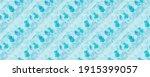 Blue Texture. Aqua Water Brush. ...