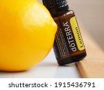 essential natural oil doterra... | Shutterstock . vector #1915436791