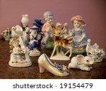 Lot Of Porcelain Or Ceramic...