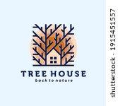 nature house logo vector... | Shutterstock .eps vector #1915451557