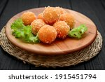 Fried Cheese Ball  Cheese...