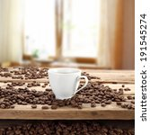 table of coffee  | Shutterstock . vector #191545274