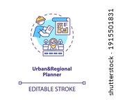 urban and regional planner...   Shutterstock .eps vector #1915501831