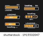 loading bar progress icons ...   Shutterstock .eps vector #1915532047