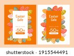 easter banner with discounts ... | Shutterstock .eps vector #1915544491