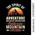 the spirit of adventure... | Shutterstock .eps vector #1915546897