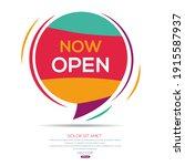 creative  now open  text...   Shutterstock .eps vector #1915587937