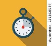 stopwatch icon. flat...   Shutterstock .eps vector #1915635154
