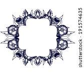 monochrome element to design... | Shutterstock .eps vector #191574635