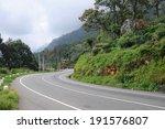 Road Close To Haputale Sri Lanka