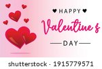 valentine's day in a lovely... | Shutterstock .eps vector #1915779571