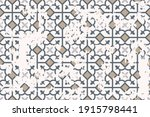 seamless vintage pattern with... | Shutterstock .eps vector #1915798441