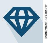 diamond icon. diamond icon... | Shutterstock .eps vector #191585849