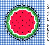 picnic vector illustration.... | Shutterstock .eps vector #1916001664