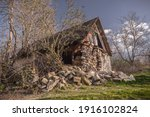Abandoned Rural House In The...