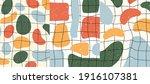 vector illustration. abstract... | Shutterstock .eps vector #1916107381