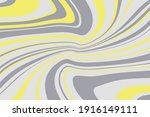 simple design with curved wavy... | Shutterstock .eps vector #1916149111
