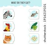 matching children educational... | Shutterstock .eps vector #1916219101