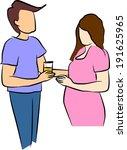 Husband Take Care His Pregnant...
