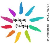 inclusion and diversity... | Shutterstock .eps vector #1916270714