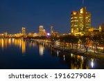 Boston Skyline At Night From...