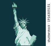 Statue Of Liberty Vector...