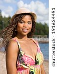 sexy african american woman... | Shutterstock . vector #191634491