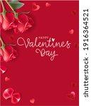 valentines day design templates.... | Shutterstock .eps vector #1916364521