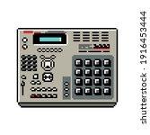 Drum Machine Mpc 2000 In 8bit...